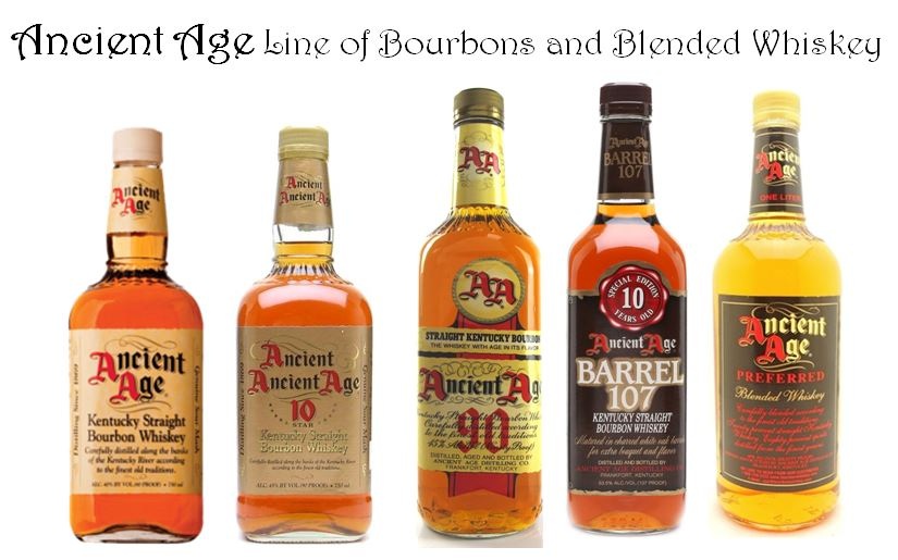 Ancient Age Bourbon Line