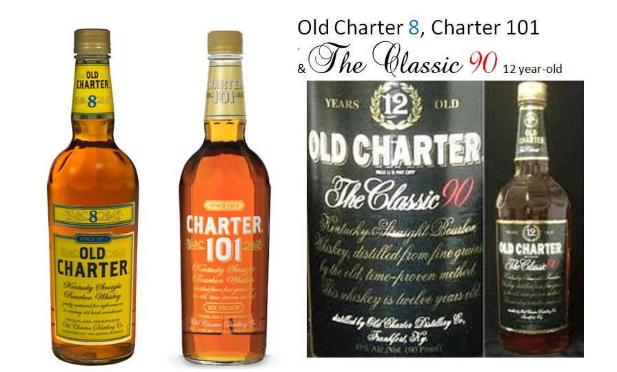 Old Charter Line of Bourbons