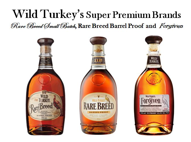 Wild Turkey's Super-Premium line