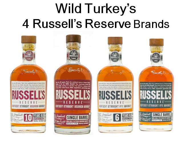 Wild Turkey traditional Super Premium line