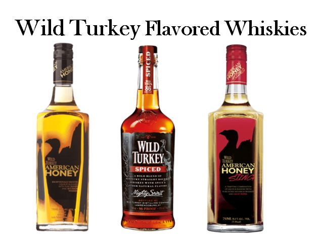 Wild Turkey's Flavored Whiskey Line