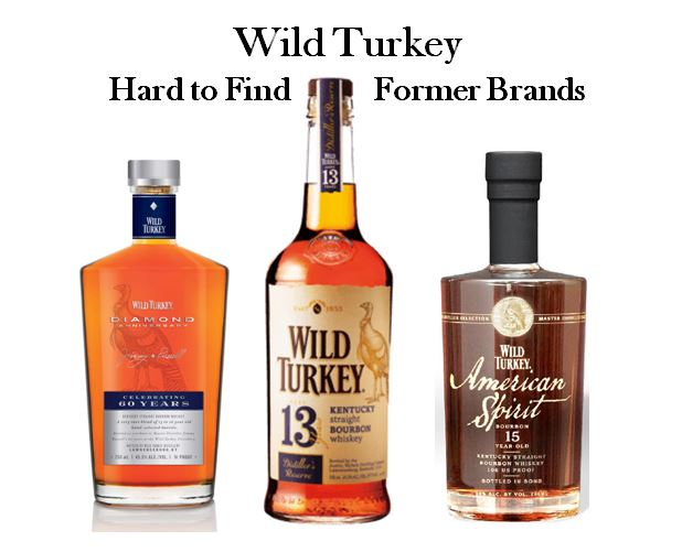 Wild Turkey's hard to find brands