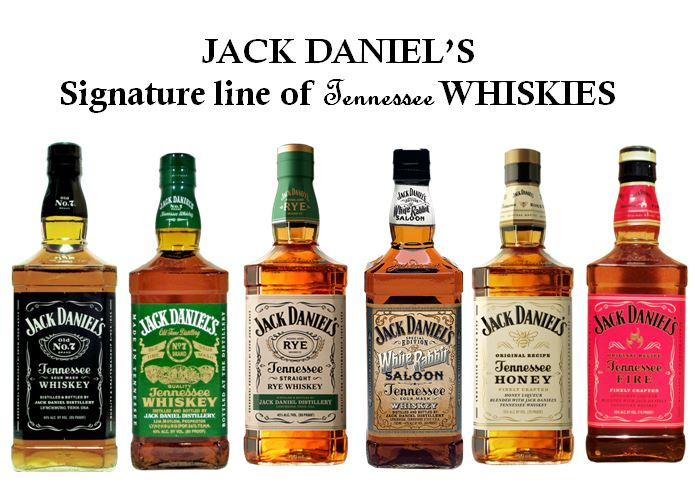 Jack Daniel's iconic Square bottles