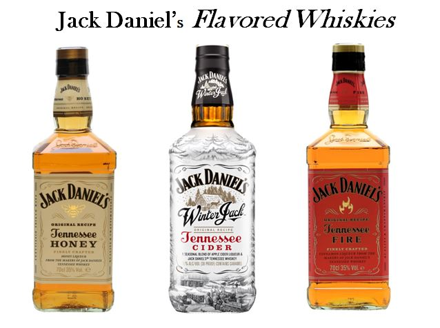 Jack Daniel's Flavored Whiskies