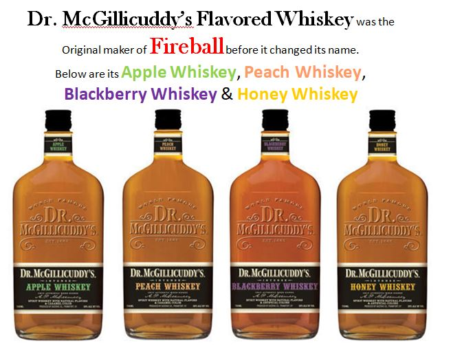 Dr. McGillicuddy's Flavored Whiskey
