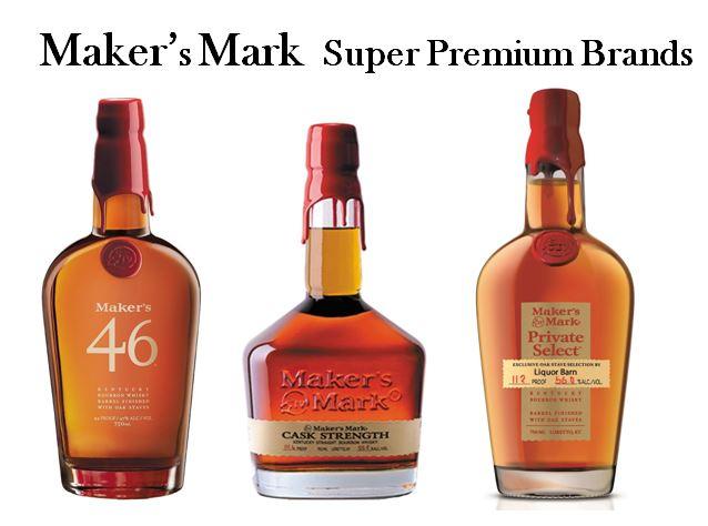 Maker's Mark Super Premium Brands