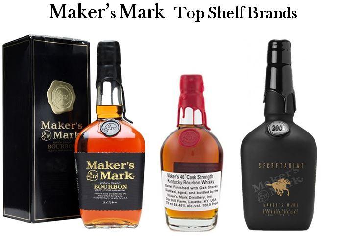 Maker's Mark Top Shelf Brands