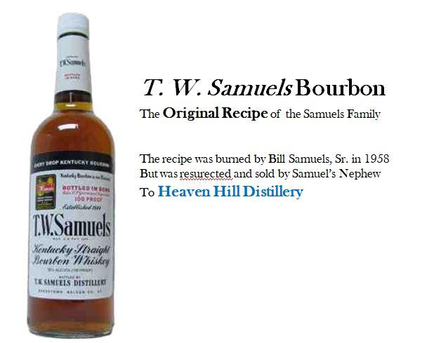 T. W. Samuels Bourbon