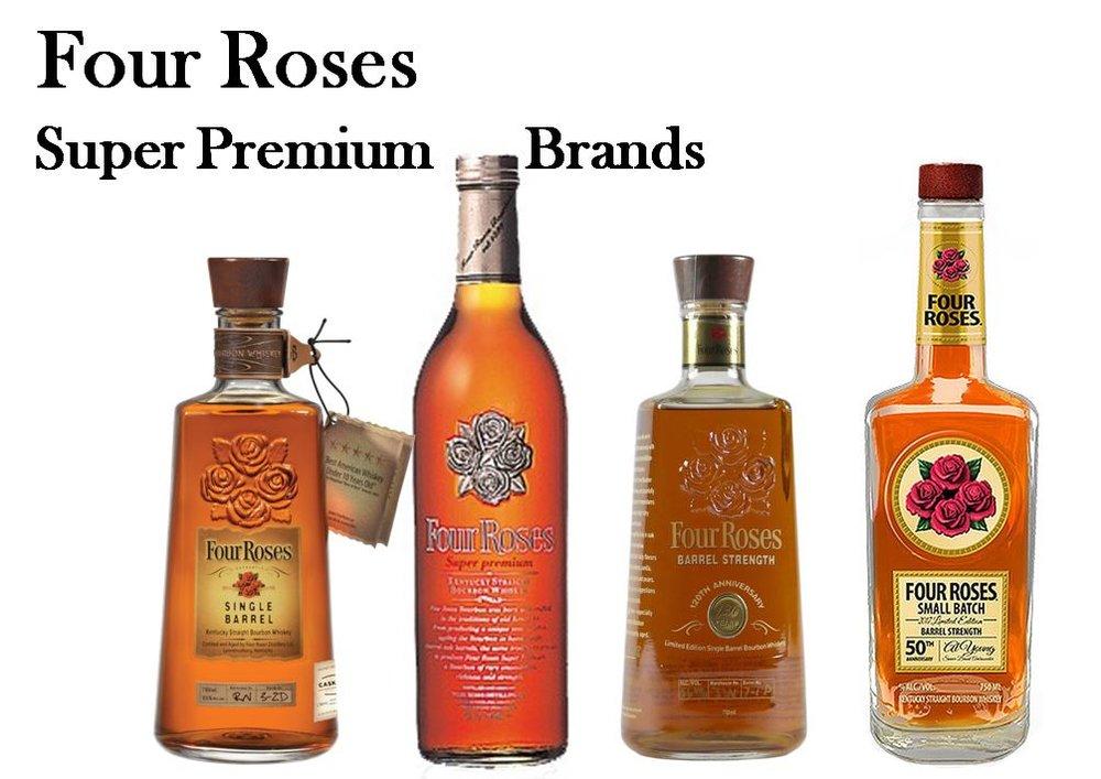 Four Roses Super Premium Brands