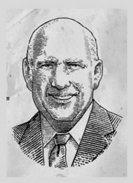 Sketch Photo of T. Jeremiah Beam, provided by Jim Beam Brands, Co. web site