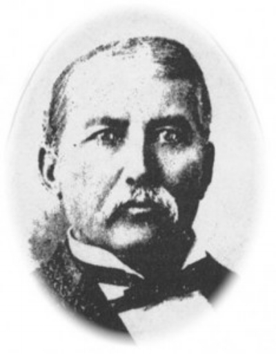 Sketch Photo of Jack Beam, provided by Kentucky Hall of Fame web site