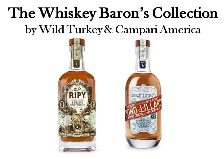 "When   Campari America   (Wild Turkey's parent Company) introduced the Whiskey Baron's Collection its first brand was named after   T. B. Ripy's   famous World's Fair Gold Medal Winning Bourbon in   ""Old Ripy Bourbon.""   The second was named after the partnership that the younger   James P. Ripy   went to work for in Anderson County as well. It is called   ""Bond & Lillard Bourbon."""