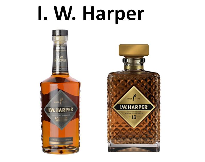 I. W. Harper   is one of the Bourbons that was purchased and reintroduced by   Orville Schupp   when he was at   Schenley Distillers, Inc.,   it is named after   Issac Wolf Bernheim   and called   I. W. Harper.    Pictured above are   I. W. Harper Bourbon Whiskey   (82 Proof) and   I. W. Harper 15 Year-old.
