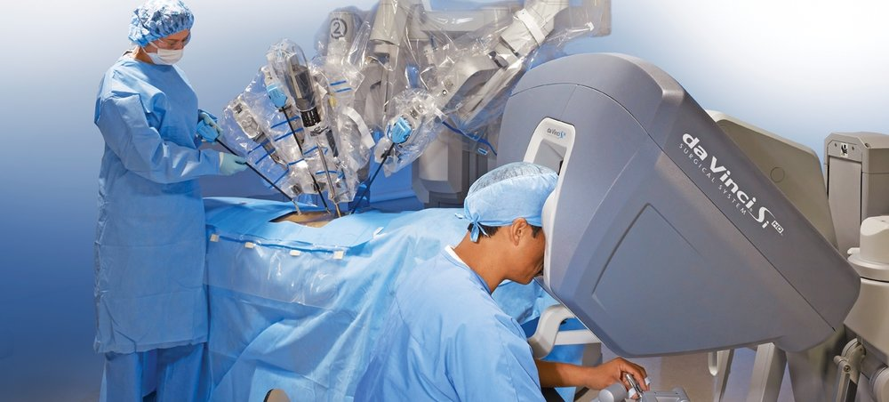 Dr. Reising is the regions most experienced Da Vinci robotic surgeon.