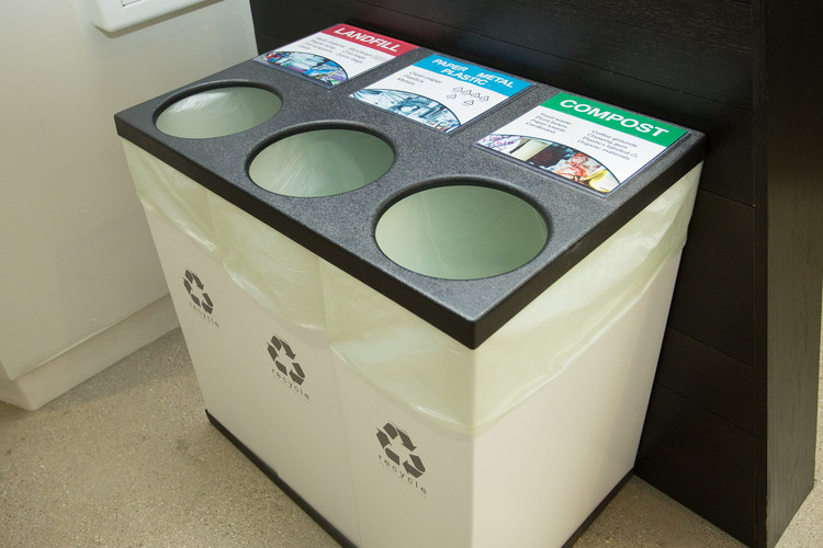 UICA Sorted Waste Bins