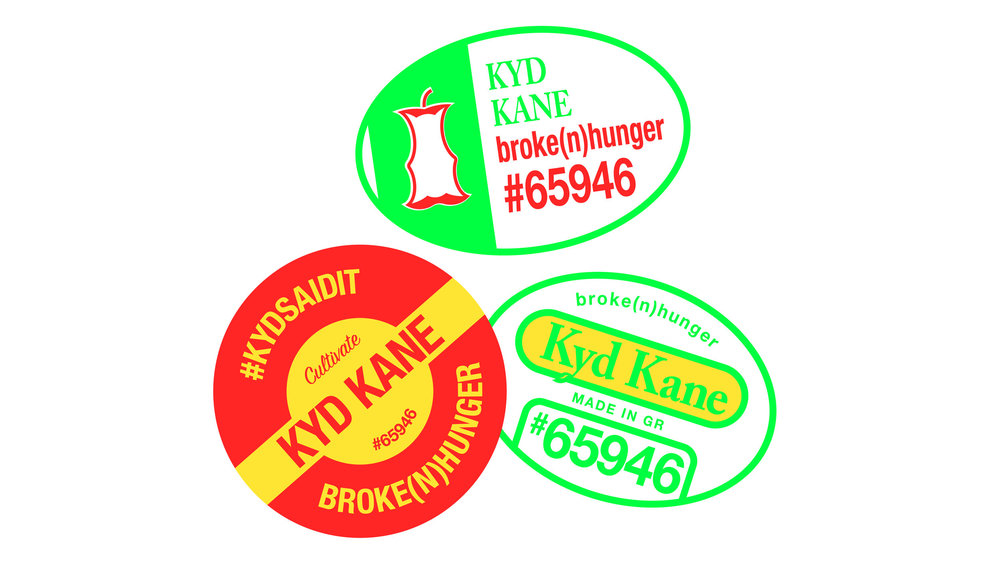 UICA Kyd Kane Stickers