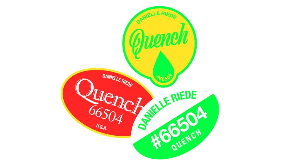 UICA Danielle Riede Stickers