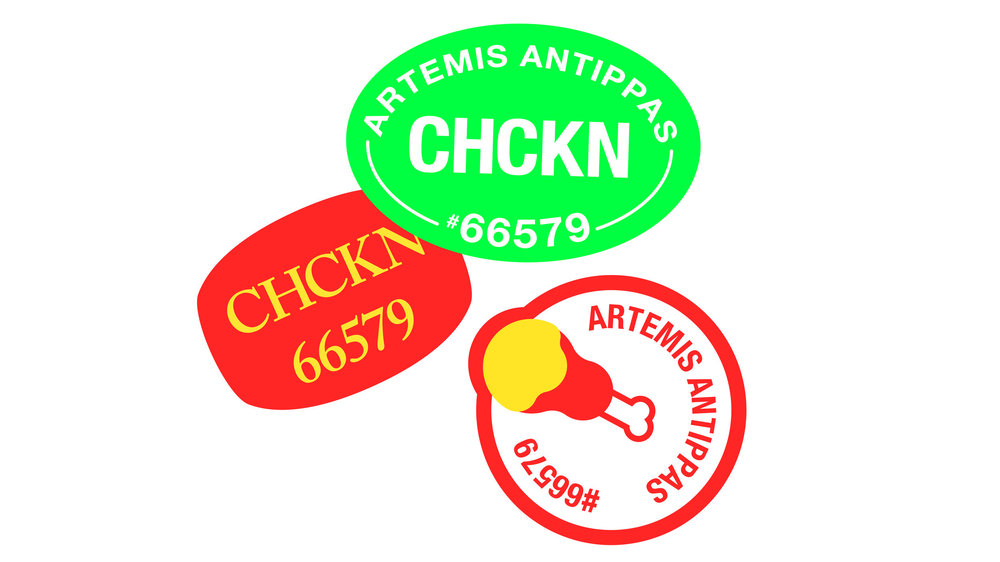 UICA Artemis Antippas Stickers