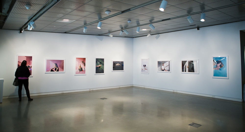 Gallery shot of Portraits by James LaCroix at UICA
