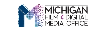 logos for the Michigan Film & Digital Media Office