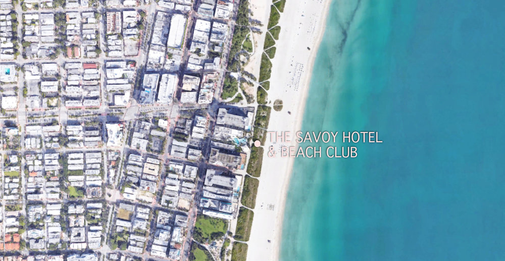 Click on map to explore South Beach