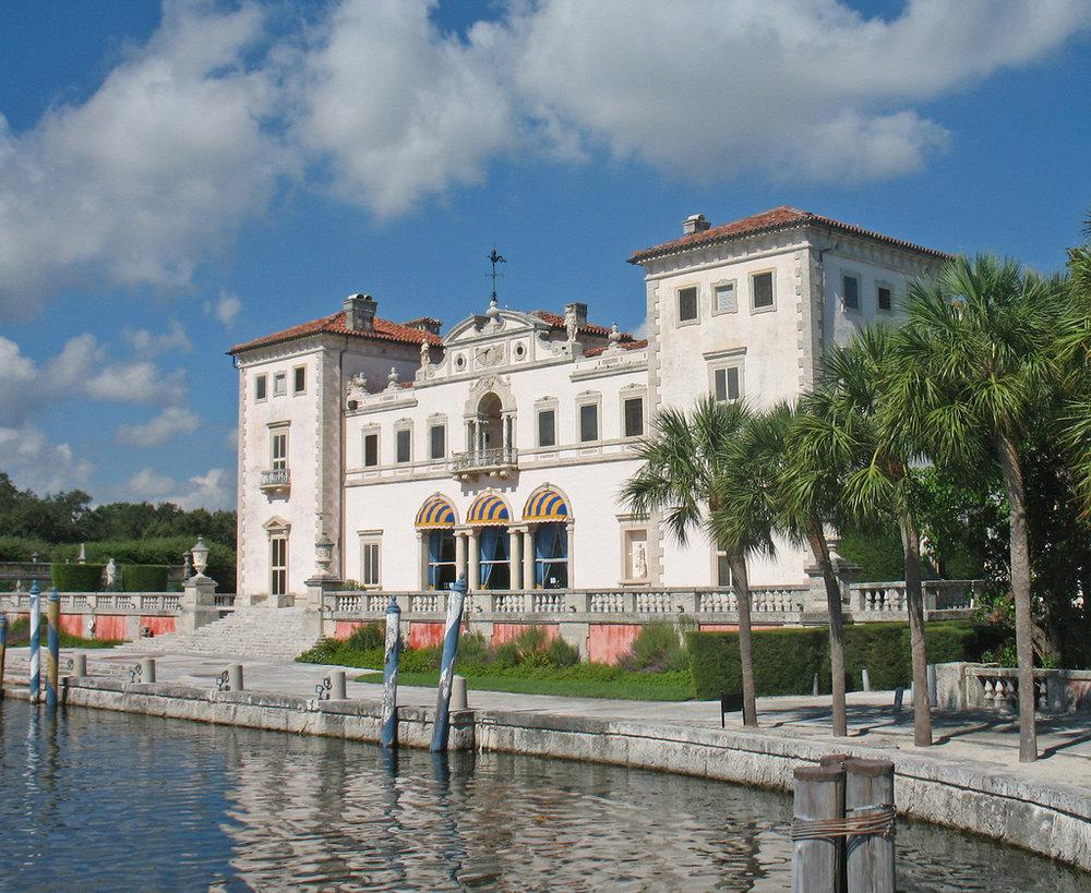 VIZCAYA MUSEUMS & GARDENS   3251 S. Miami Avenue Miami, FL 33129 (305) 250-9133