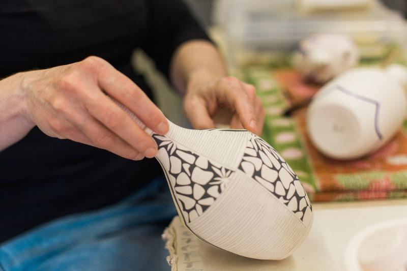 The Artisan Series: Beyond the Wheel with Ceramist Dganit Moreno | ALIVE Magazine, 01/16