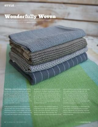 Wonderfully Woven, ALIVE Magazine, 09/15
