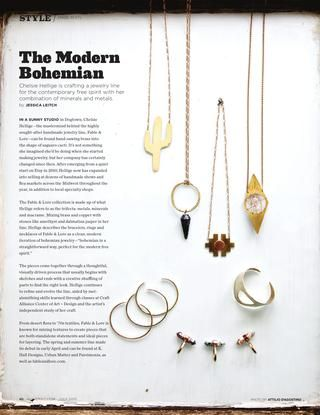 The Modern Bohemian, ALIVE Magazine, 07/15