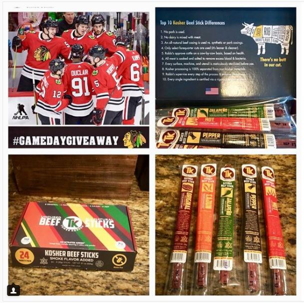 @ jlanda1217   A huge shoutout to  @tomerkosher and team for this amazing giveaway. Now I have my game day goodies on hand. Thank y'all so much 🔥🔥🔥🍻 wow these amazing Beef sticks are Gluten Free👍
