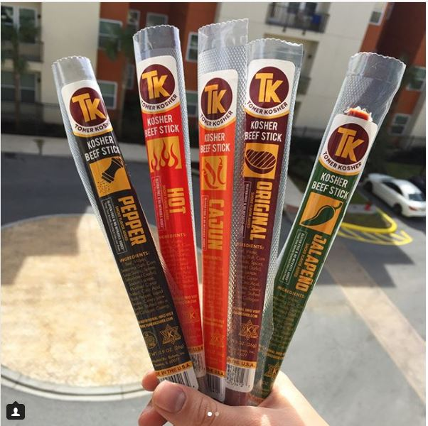 @ noshonthat    @tomerkosher  getting us good Jews through the day, one kosher beef stick at a time! You certainly don't have to be Jewish to enjoy these though. Can't go wrong with flavors like Cajun and jalapeño!  #noshonthat  .