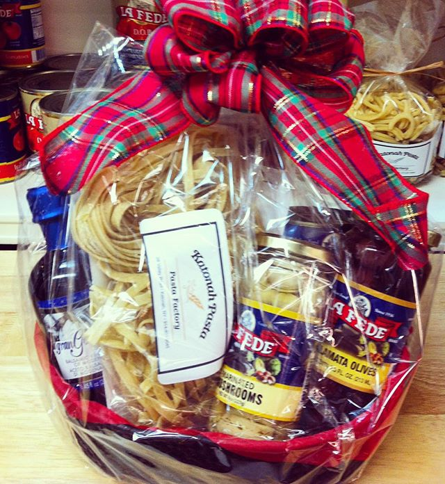 Need a gift idea? Come by and and get a unique gift basket!