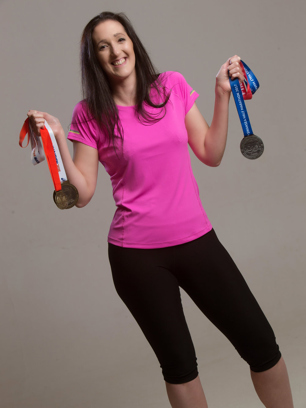Me and my favourite medals.