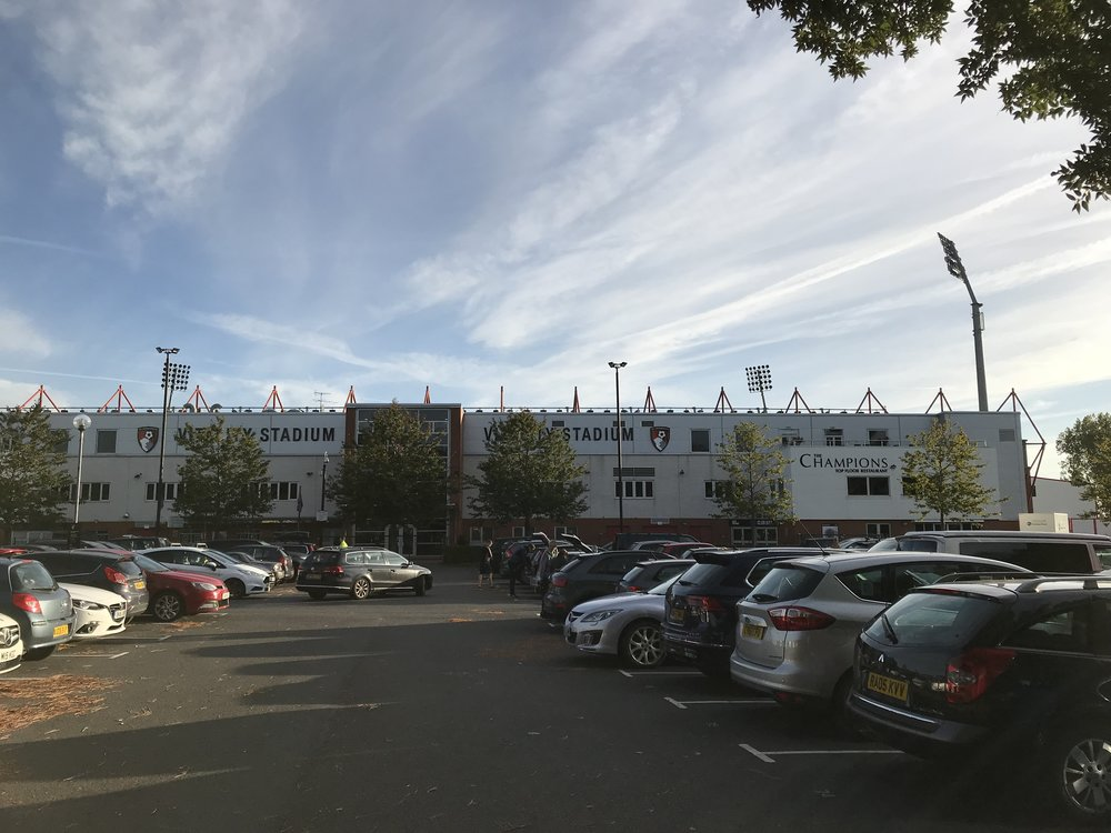 Vitality Stadium AKA Dean Court - home of AFC Bournemouth