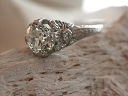 platinum whimsical engagement