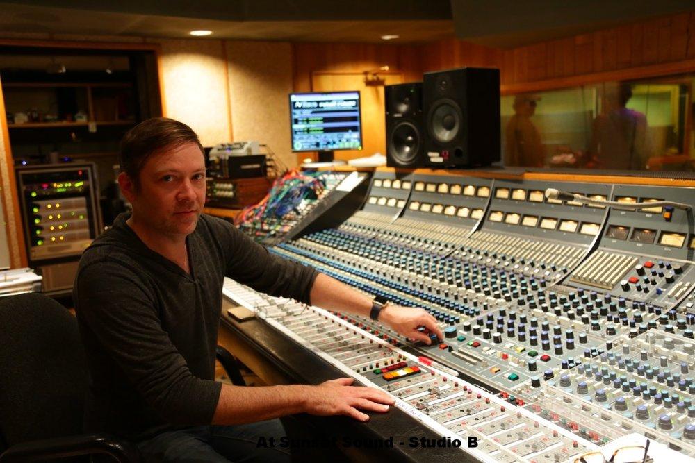 at Sunset Sound - Studio B