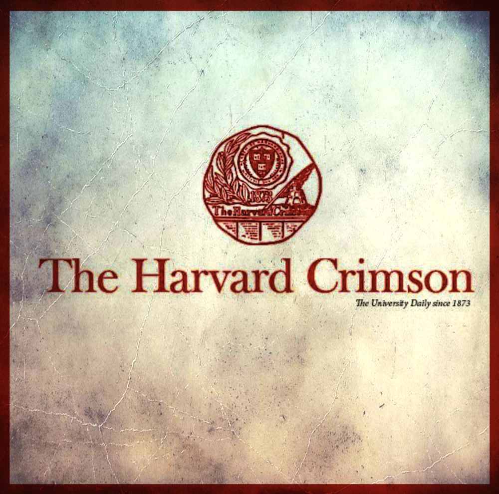 Harvard Crimson Article  -
