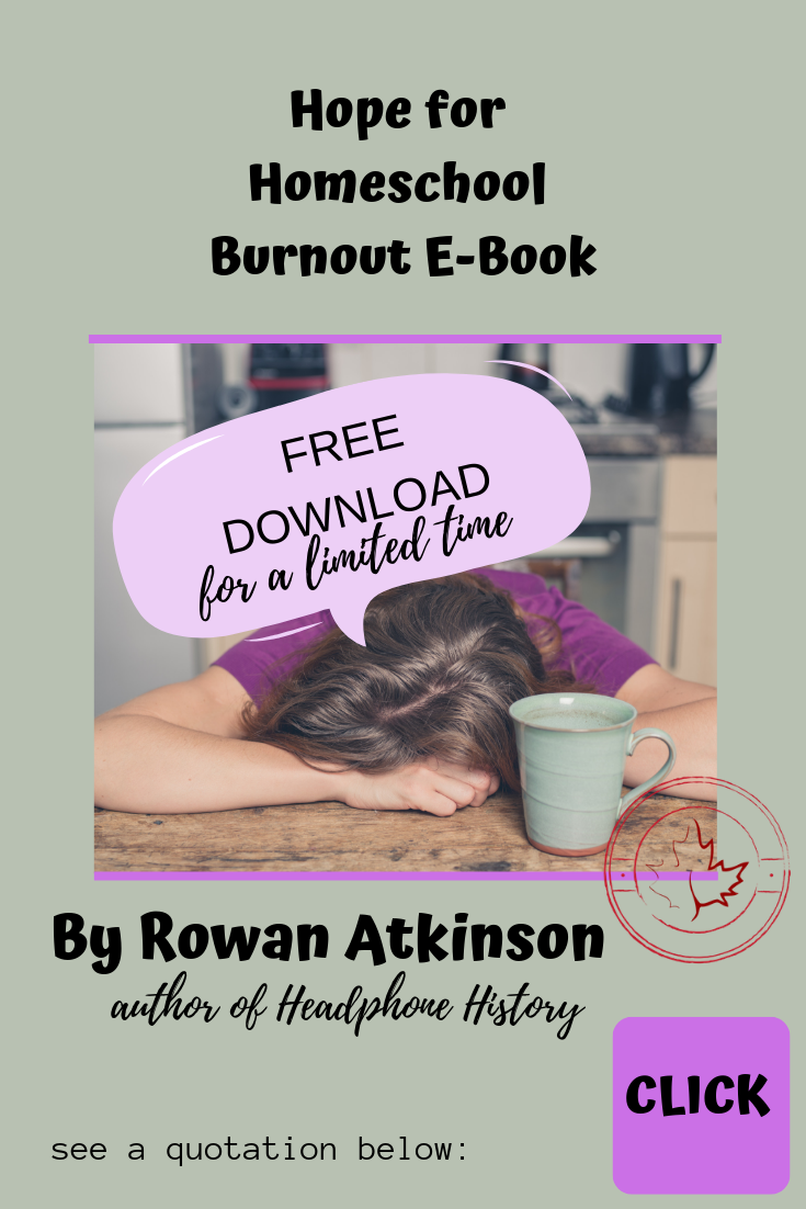 Homeschool Burnout ebook