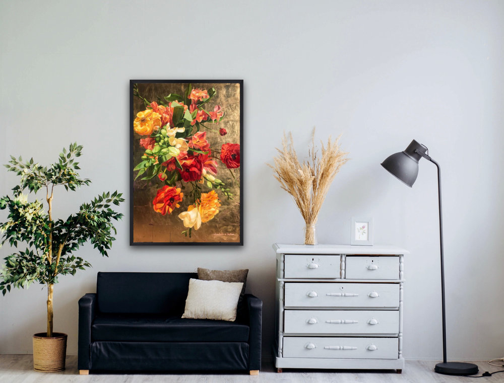 Beautify your home - with original one-of-a kind art. Each print is hand finished and signed, ready to make a statement on your wall.