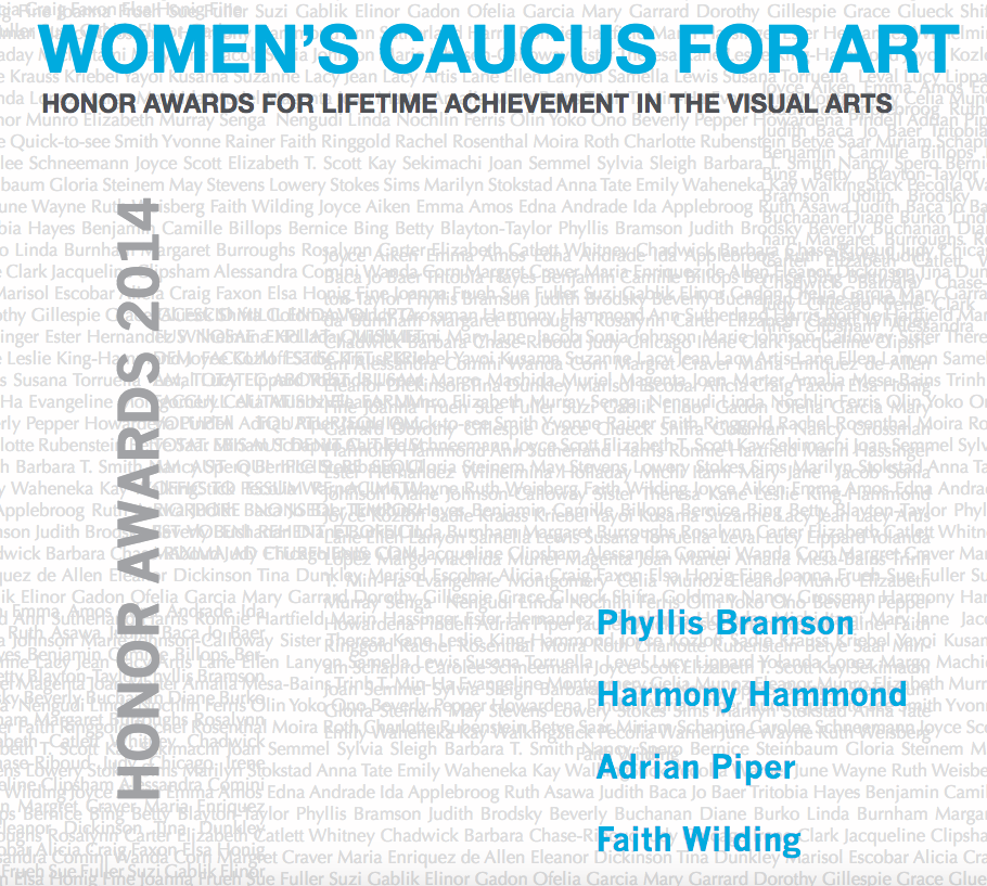Women's Caucus for Art Lifetime Achievement Award Recipient -