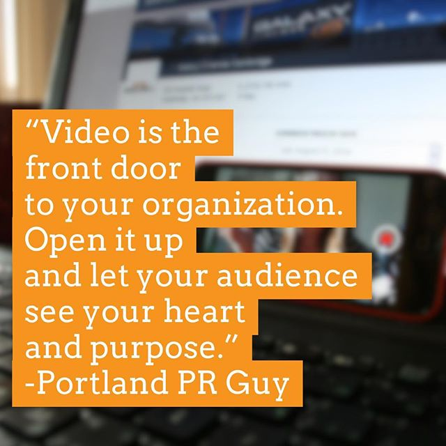 How are you using video?  #portland #pdxlife #pdxlove #oregonliving #oregonlife #pdxrealestate #portlandoregon #portlandnw #portlandeats #portlandpdx #portlandhomes #portlandtattoo #portlandbeer #smallbusiness #lakeoswego #beavertonoregon #bendoregon #portlandrealtor #realestateagent #oregonrealestate #realestateagent #portlandwedding #portlandfashion #portlandbride #portlandfoodies #entrepreneur #branding #personalbranding #mediarelations #pr