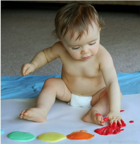 Simple sensory play ideas your baby will love- babies and toddlers play-piper jade kids-costa mesa-californis-orange county-children clothing-baby clothing-baby play