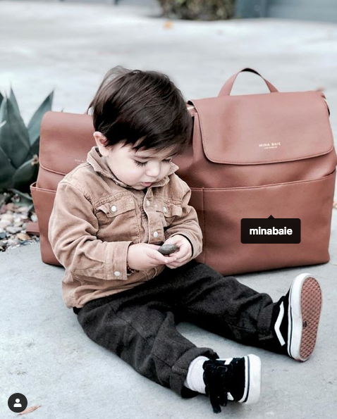 CONVERTIBLE BABY BAG: BACKPACK TO CROSS-BODY - AVAILABLE FOR PRE-ORDER