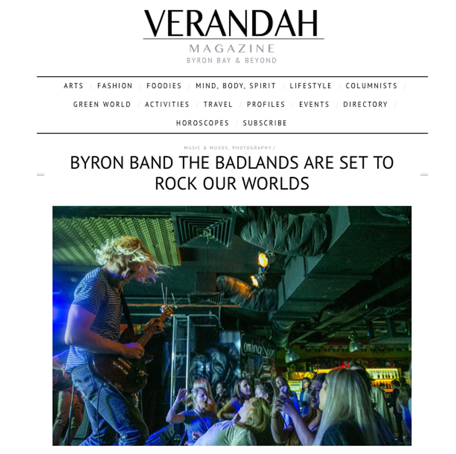Verandah Magazine, August 2017