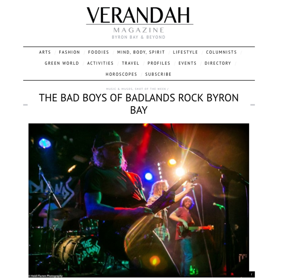 Verandah Magazine, October 2016