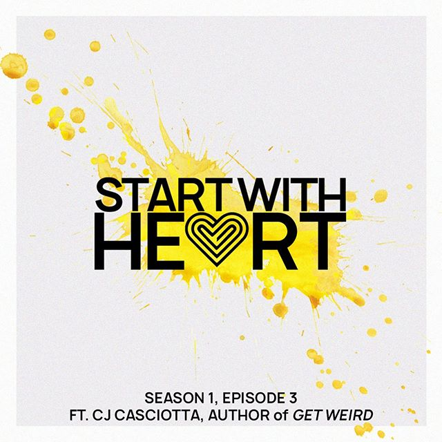 Check our our interview with identity ninja, @cjcas, as he covers his book, Getting Weird, and talks about what it means to him to live and lead from the heart. . . . . #liveyourpurpse #startwithheart #heart #purpose #passion #werid #start #heart #leadership #podcast #nashvillepodcasters #identity #storytelling