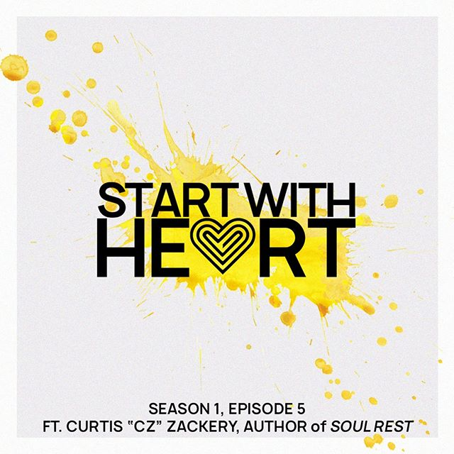 """Curtis """"CZ"""" Zackery.  What can we say?? This dude is THE MAN.  If you didn't get to see his energy and amazing speech on REST at THREAD last month... then go and listen to our podcast with him ASAP. . . . . Start with Heart is available wherever you get your podcasts. Oh, and you can watch it on YouTube. . . . #soulrest #rest #startwithheart #heart #purpose #passion #nashville #leadership #love"""