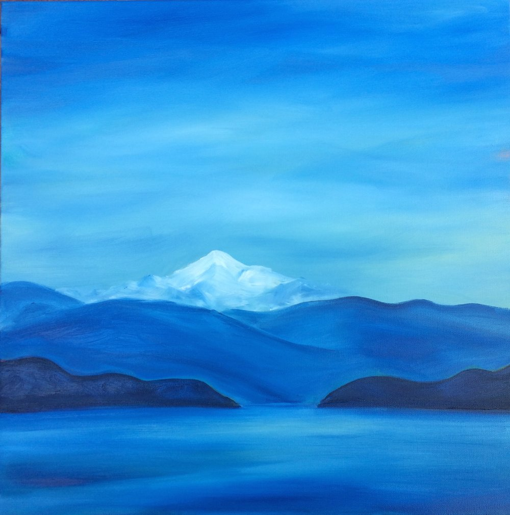 Mt. Baker; oil on canvas SOLD Jill McDougall