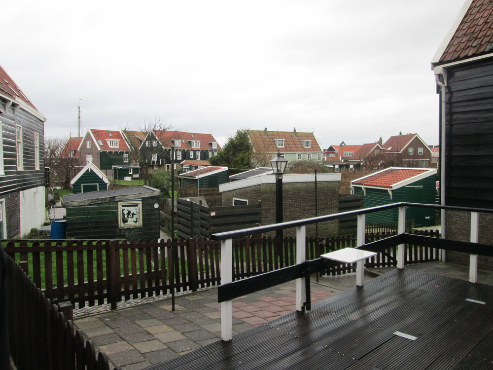 The island of Marken in the Netherlands