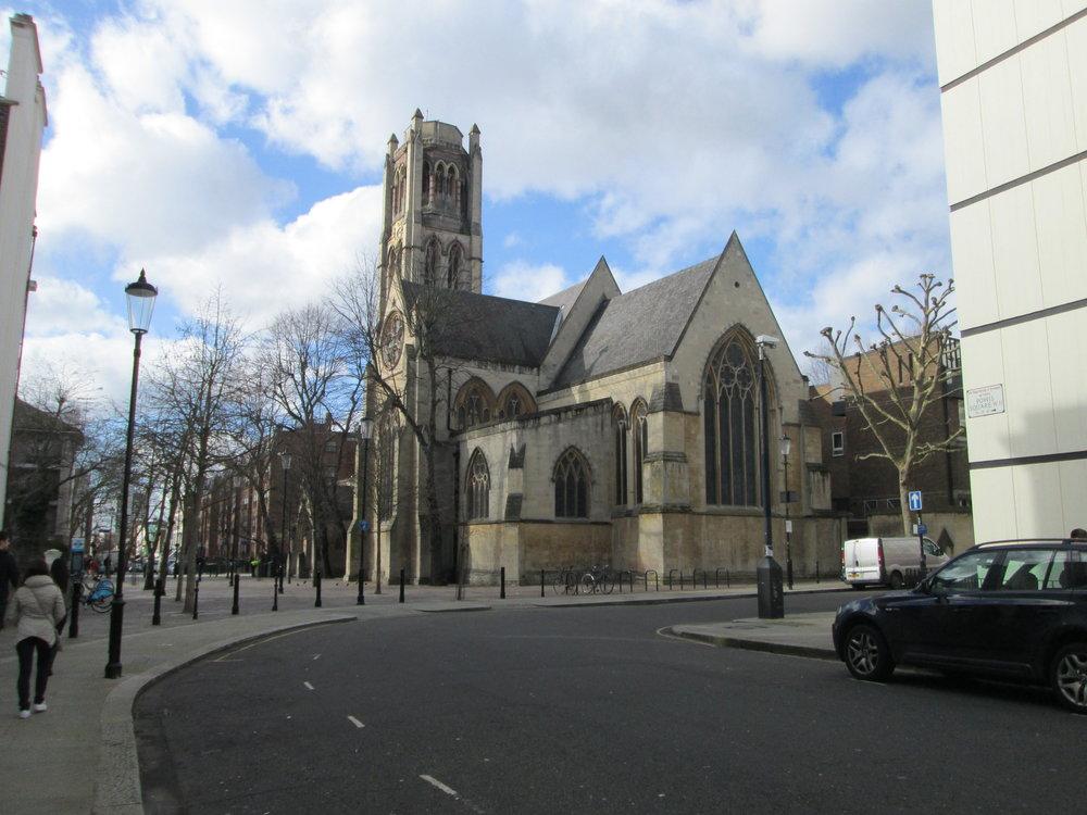 Random, beautiful churches to be encountered everywhere.